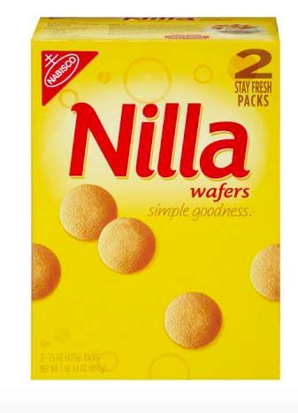 Nabisco Nilla Wafers, 2 pk./15 oz.