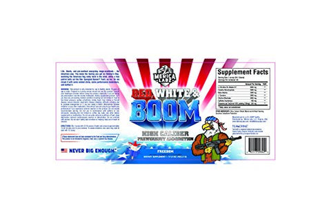 Merica Labz Red, White & Boom | 20 Servings - Freedom