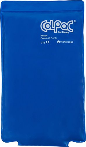 Chattanooga Col Pac   Reusable Gel Ice Pack   Half Size   7.5 In X 11 In (19 Cm X 28 Cm)   Cold Thera
