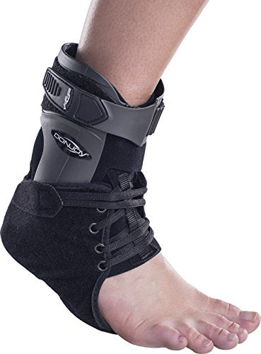 DonJoy Velocity ES (Extra Support) Ankle Brace: Standard Calf, Right Foot, Medium