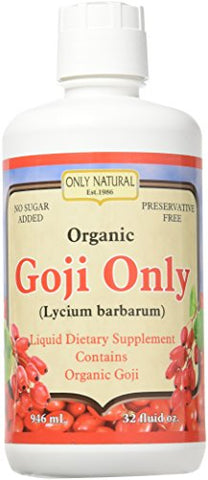 ONLY NATURAL Organic Goji Only, 0.02 Pound