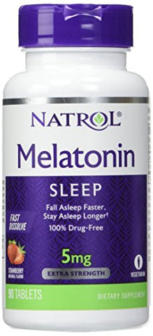 Natrol Melatonin 5mg 90 Tablets