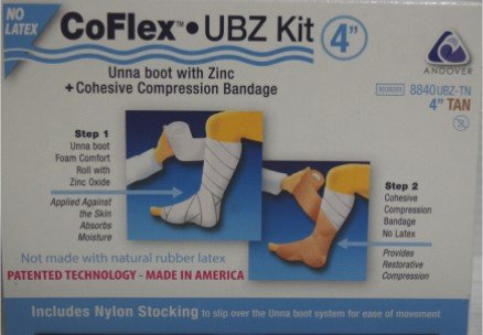 CoFlex Unna Boot with Zinc, Step 1: 4