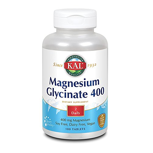 KAL Magnesium Glycinate 400 | 90 Serv. 180 CT