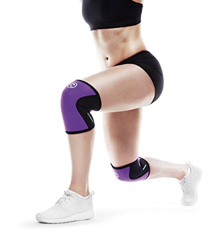 Rehband Rx Knee Support 5mm   Medium   Purpleâ   Expand Your Movement + Cross Training Potential   K