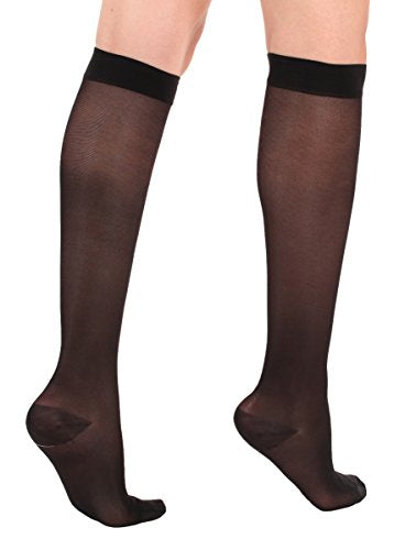 Made In The Usa   Absolute Support Sheer Medical Compression Socks Women 15 20 Mm Hg  Medias De Compr