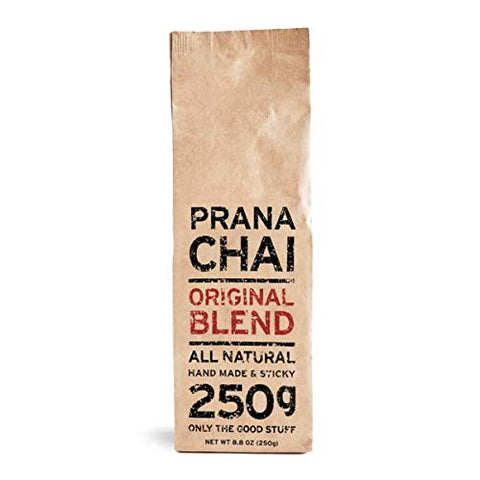 Prana Chai ORIGINAL Masala Blend 250 g - All-Natural, no sugars, no syrups, no concentrates, no preservatives. Only The Good Stuff