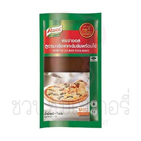 Knorr Selection Concentrated Tomato Pizza Sauce 1 kg.Delicious, Italian style