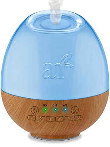 Art Naturals Essential Oil Diffuser & Baby White Noise Sound Machine W/Night Light   6 Natural Relaxi