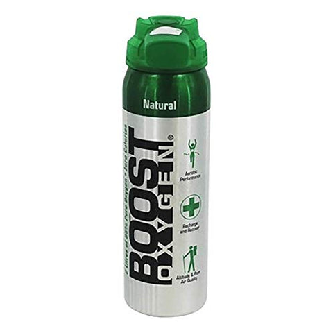 Boost Oxygen- 95% Pure Aviator's Oxygen- 2 Liters