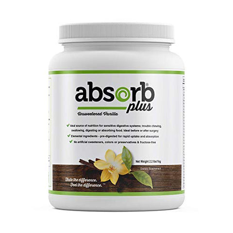 Absorb Plus (1kg, Unsweetened Vanilla)