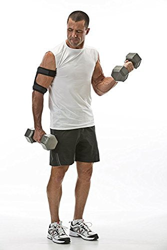 "Cho-Pat Bicep/Tricep Cuff - Eases and Prevents Bicep/Tricep Strain, Injury, and Pain (Bicep/Tricep Tendonitis, Pulling and Tearing of Tendons, Inflammation) - XXL (14""-16"")"