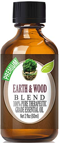 Earth & Wood Blend Essential Oil   100% Pure Therapeutic Grade Earth & Wood Blend Oil   60ml
