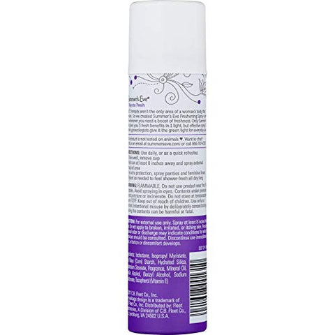 Summer's Eve Freshening Spray | Ultra | 2 oz Size | Pack of 3 | pH Balanced, Dermatologist & Gynecologist Tested