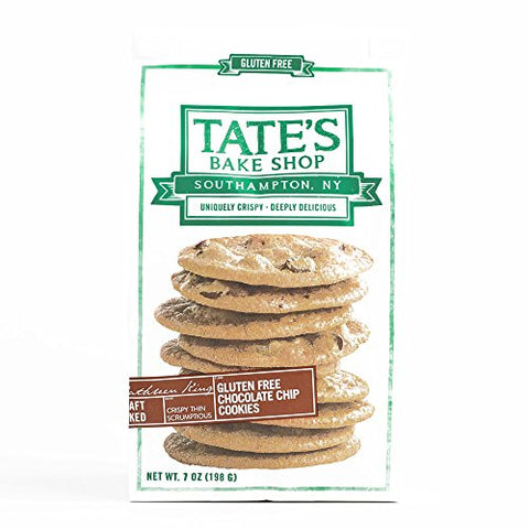 Tate's Bake Shop Gluten Free Chocolate Chip Cookies 7 oz each (1 Item Per Order, not per case)