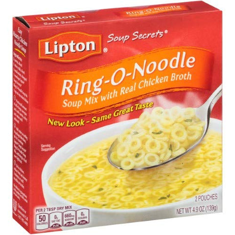 Lipton, Soup Secrets, Soup Mix With Real Chicken Flavor Broth (Pack of 2)