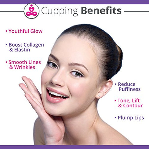 Facial Cupping Set For Face Eyes And Lips Silicone Cupping Therapy Antiaging Skincare