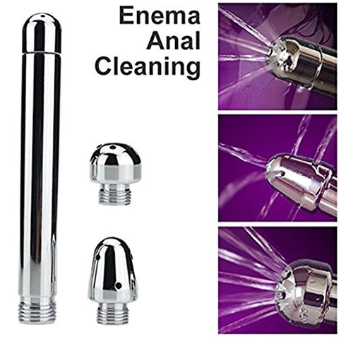 Cleanstream Aqua Shot Deep Shower Enema/Douche Cleansing System 4 Piece Set