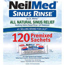 Image of NeilMed Sinus Rinse All Natural Relief Premixed Refill Packets 100 Each