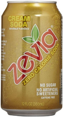 Zevia Zero Calorie Soda - Cream - 12 oz - 6 pk by Zevia