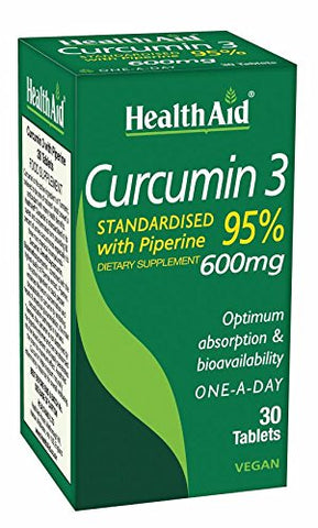 Curcumin 3, 30 Ct, 600mg Once Daily Tablets