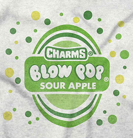 Vintage Sour Apple Blow Pop Candy Logo Hoodie White