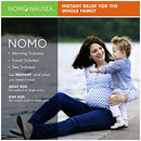 Image of NoMo Nausea Instant Relief Large Tan Aromatherapy Anti-Nausea Bands with Acupressure