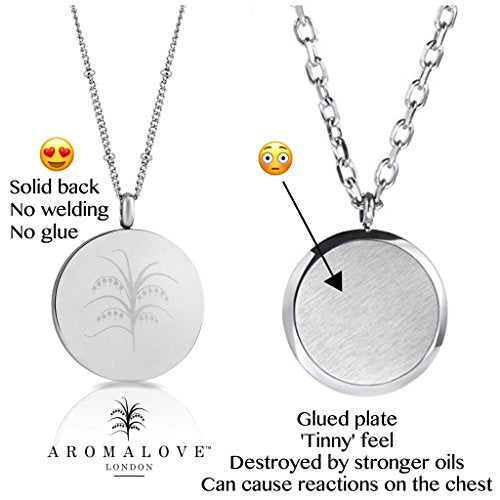3 Essential Oil Diffuser Necklaces   Aromatherapy Jewelry   $17.99 Each   Hypoallergenic 316 L Surgic