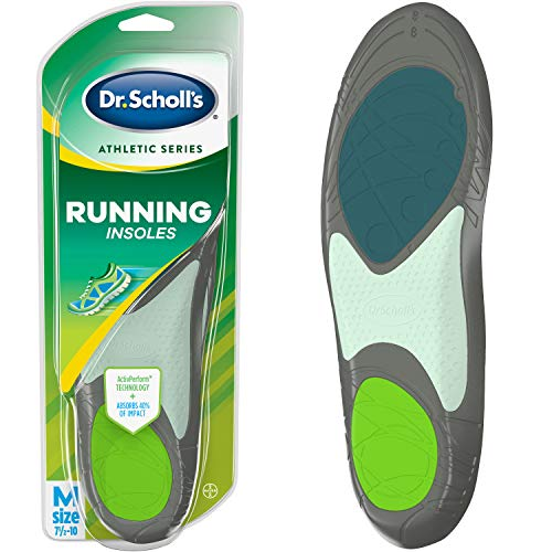Dr. Schollâ??S Running Insoles // Reduce Shock And Prevent Common Running Injuries: Runner's Knee, P