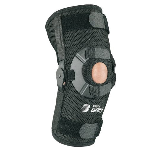 Breg PTO Standard Patella Knee Brace (XLarge Right Airmesh Open Back)