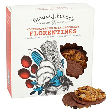 Fudge's Milk Chocolate Florentines - 8 per pack