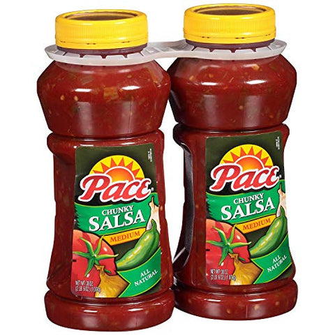 Evaxo Pace Chunky Salsa, Medium (38 oz., 2 ct.)