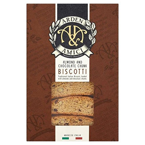 Arden & Amici Almond & Chocolate Chip Biscotti - 150g