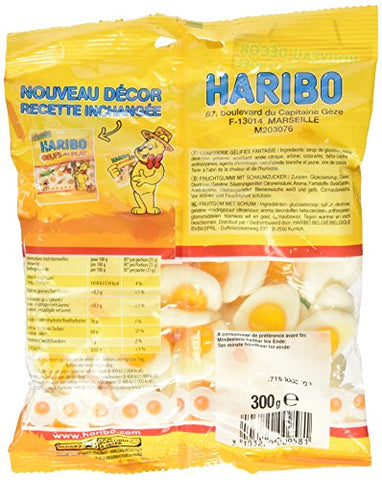 Haribo Oeufs au Plat 300 grams from France