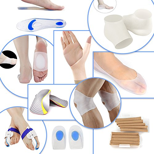 Silicone Gel Heel Cups Plantar Fasciitis Heel Cushion Pain Relief Shock Absorption Heel Pads For Cal