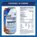 Image of Pure Protein Ready to Drink Shakes, High Protein Cookies N' Cream, 11oz, 12 count