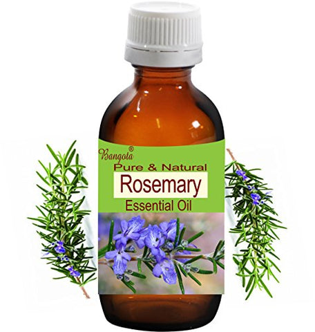 Rosemary Oil- Pure & Natural Essential Oil- Rosmarinus officinalis (50 ml (1.70 Oz))