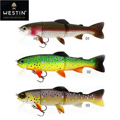 Westin WS07001 5398-0139 Tommy The Trout Slow Fishing Equipment