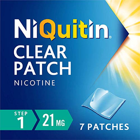 NiQuitin 21 mg Clear Step 1 Patch - by Niquitin