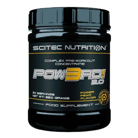 Scitec Nutrition POW3RD! 2.0 350g Power Pear by Scitec Nutrition