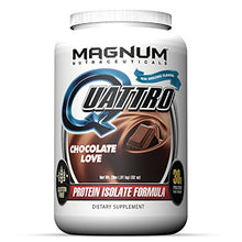 Quattro Chocolate Love Lactose-Free Protein Powder for Men & Women (2 lbs.)