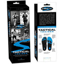 Image of Stridetek Tactical Trainer Orthotic Insoles - Arch Support Metatarsal Pad & Gel Plugs Prevent Foot Pain Plantar Fasciitis & Shin Splints - (Blue) - Mens 4 / Womens 5