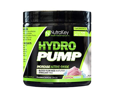 NutraKey Hydro Pump Nutrition Mixer, Cotton Candy