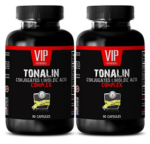 Cla Safflower Extract - TONALIN Conjugated Linoleic Acid Complex - Muscle Builder - 2 Bottles 180 Capsules