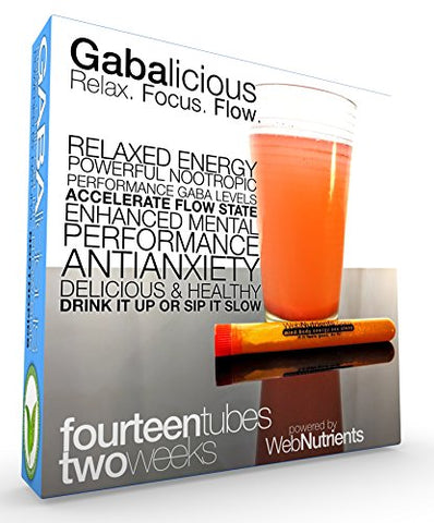 GABAlicious - GABA-Enhancing Drink Blend. Relaxed Energy. Enhanced Mental State.