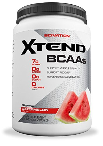 Xtend Original Bcaa Powder Watermelon Explosion | Sugar Free Post Workout Muscle Recovery Drink With