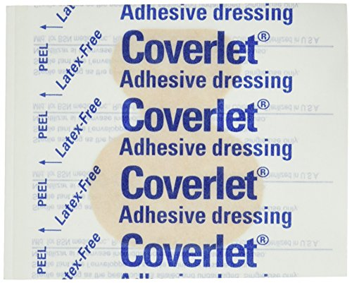 "COVERLET LARGE FINGER BANDAGES, 50/Bx - 2"" x 2 1/2"""