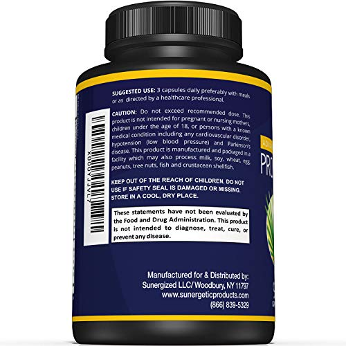 Premium Prostate Supplement â?? Powerful Prostate Support Capsules â?? Includes Saw Palmetto Extract
