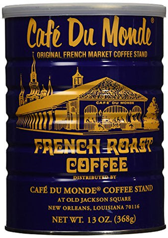 (Pack of 2) Caf Du Monde French Roast Coffee, Net Wt. 13 oz