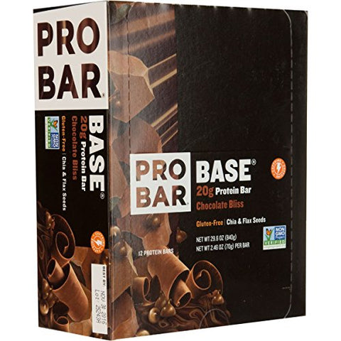 ProBar Base Bar - 12-Pack Chocolate Bliss, One Size